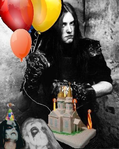 Поздравления в день рождения металлисту